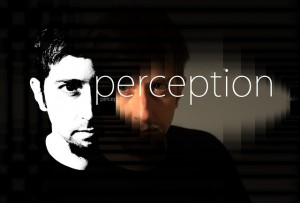 Image of a man in black and white with the word perception across the image. Excessive alcohol  consumption can impact your perception.